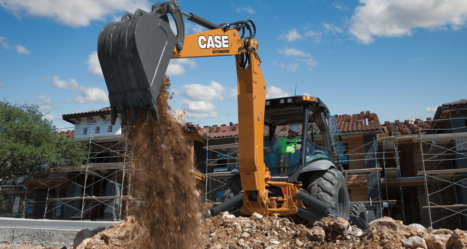 CASE 590 Super N Backhoe Loader