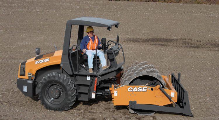 CASE SV208 Soil Compactor
