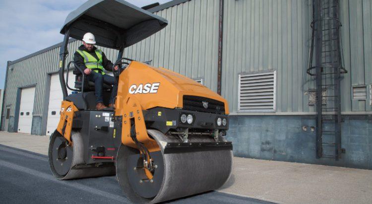 CASE SV45D Asphalt Compactor