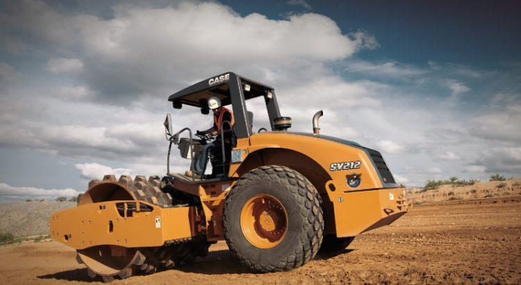 CASE SV212 Soil Compactor
