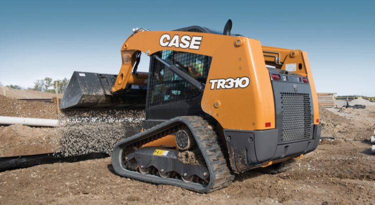 CASE TR310 Compact Track Loader