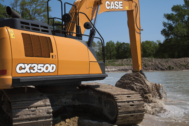 CASE CX250D FULL SIZE EXCAVATOR