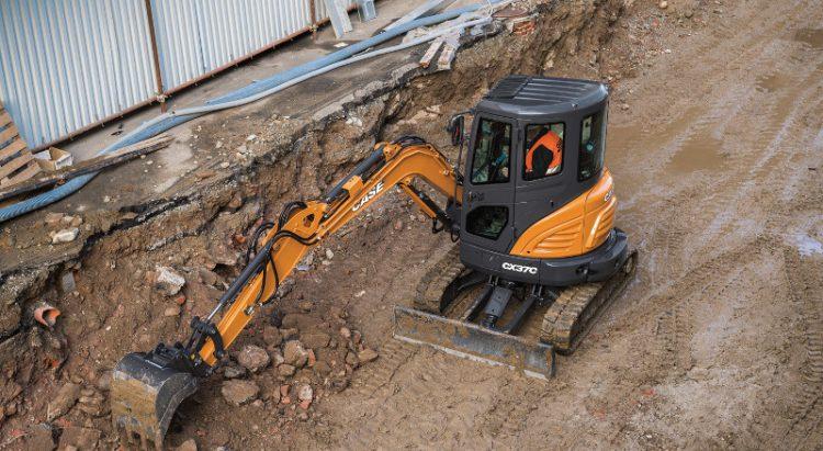 CASE CX37C Mini Excavator