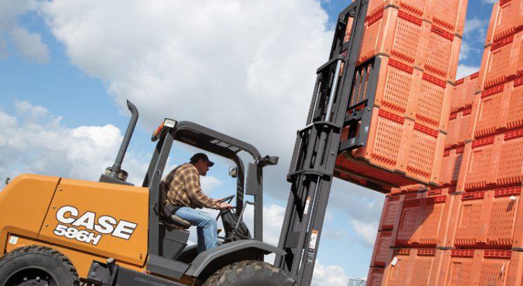 CASE 586H Forklift