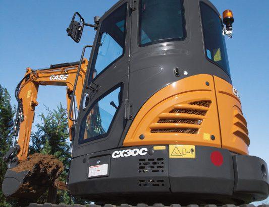 CASE CX30C Mini Excavator