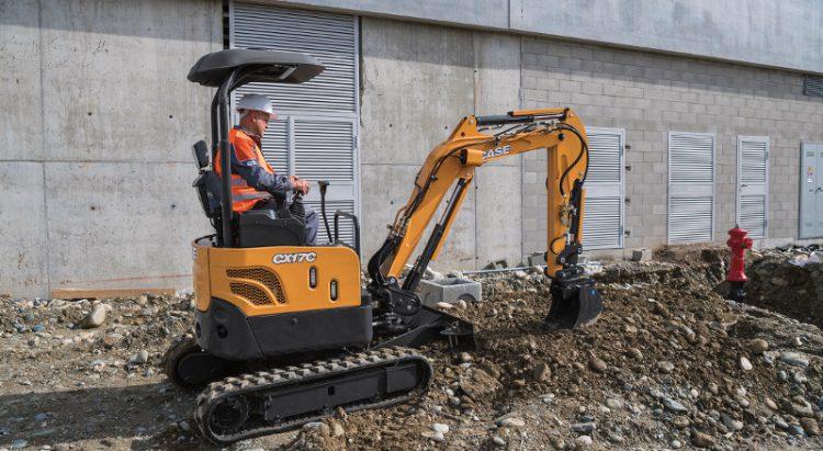 CASE CX17C Mini Excavator