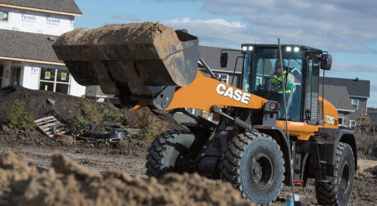 CASE 721G Wheel Loader