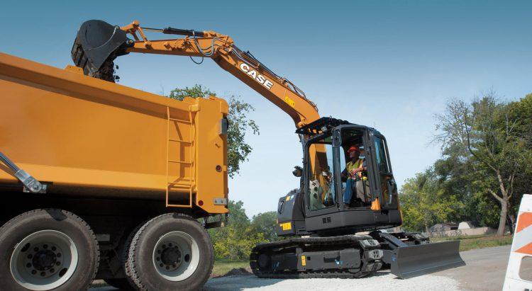 CASE CX875C SR Midi Excavator