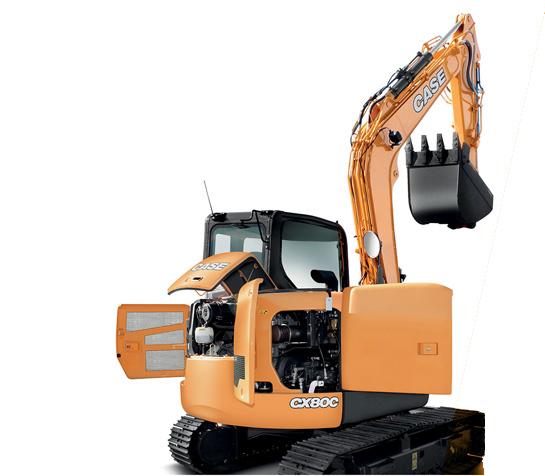 CASE CS80C Midi Excavator
