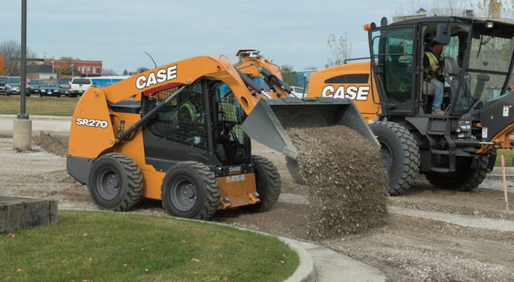 CASE SR270 Skid Steer Loader