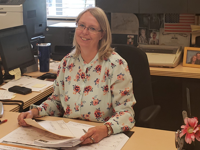 Mary Dalton, Contractor's Machinery Admin Asst-Knoxville