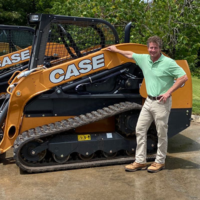 Blake Wilson is Vice President/General Manager for CMI-CASE