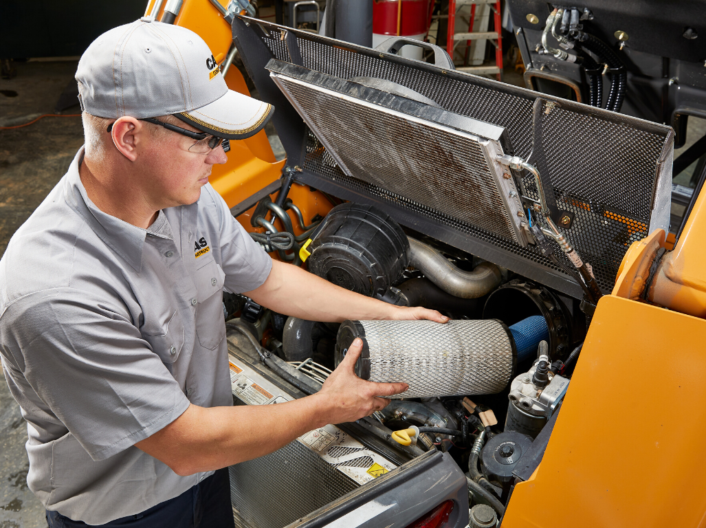 Maintain peak performance of your compact track loader with these 5 daily maintenance steps