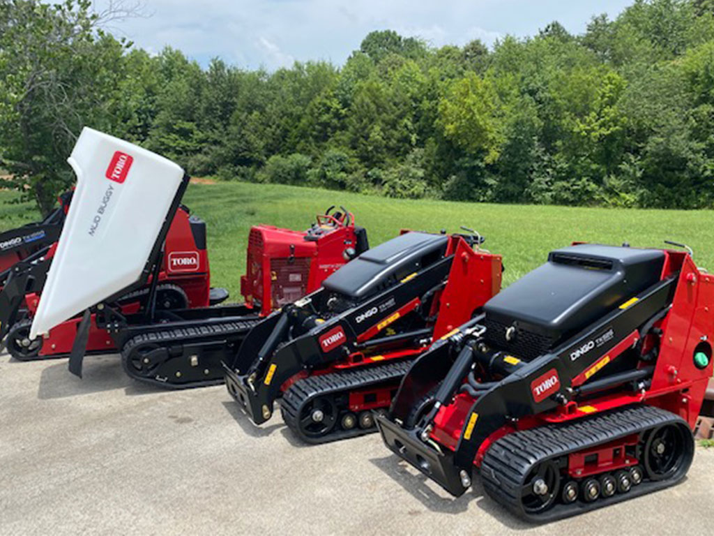CMI-Case now offers the Toro Dingo line of compact utility loaders.